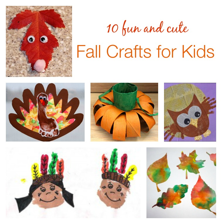 Have Fun With These Fall Crafts For Kids