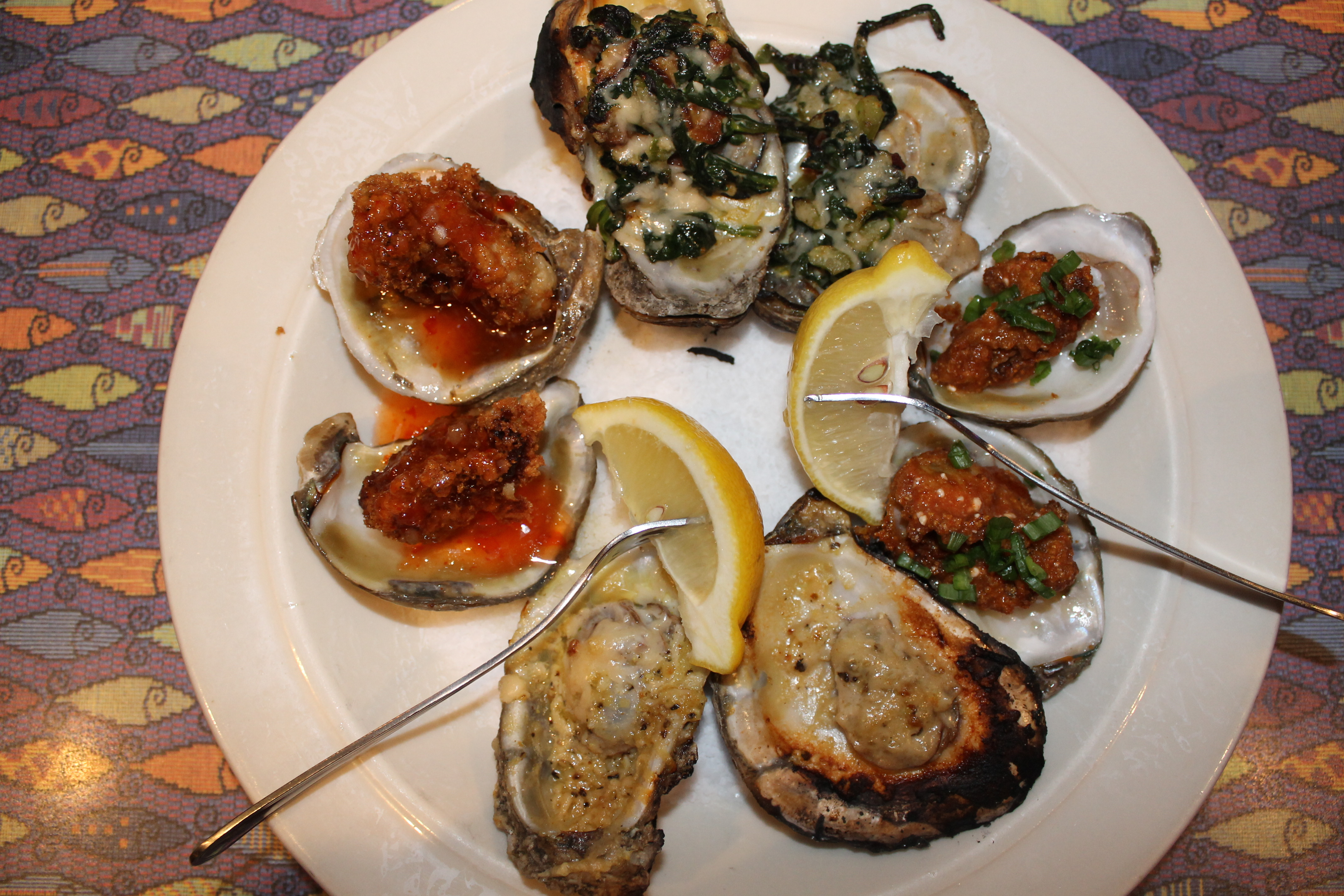 The Fish City Grill Oyster Selections Take Over Oysterfest