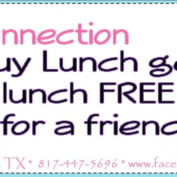 Frugal Connection:  Buy 1 Lunch at Tastefully Unique, Get 1 FREE!