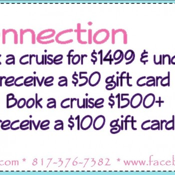 Frugal Connection:  FREE Gift Card with Cruise Purchase!