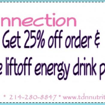 Frugal Connection:  25% off Herbalife + FREE Energy Drink Pack!