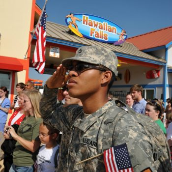 Hawaiian Falls Waterparks – Active Military Receive Free Admission on Memorial Day
