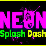Neon Splash Dash