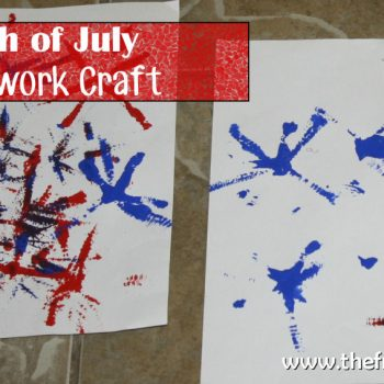 Forth of July Firework Craft