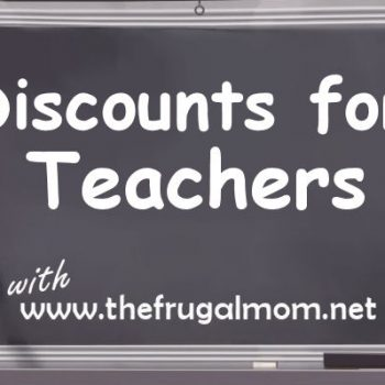 Discounts for Teachers – Books and Printed Materials