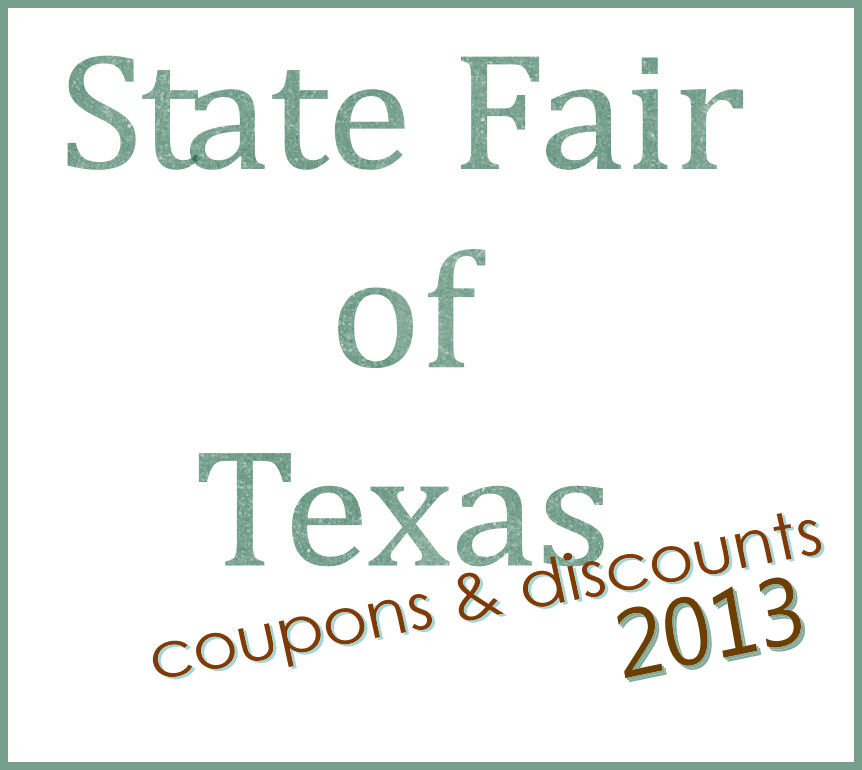 state fair of texas and save with these state fair of texas discounts