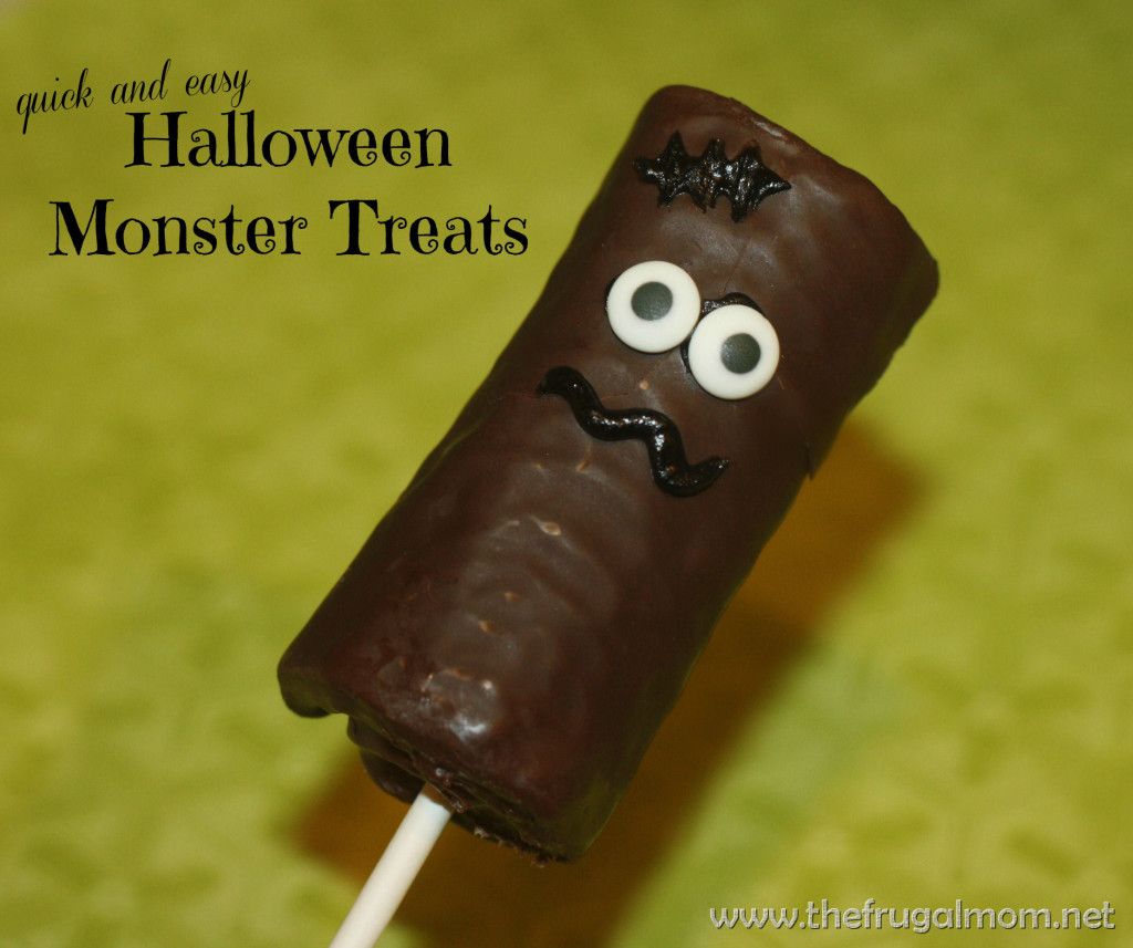Quick and easy halloween monster treats for Quick and easy halloween treats to make