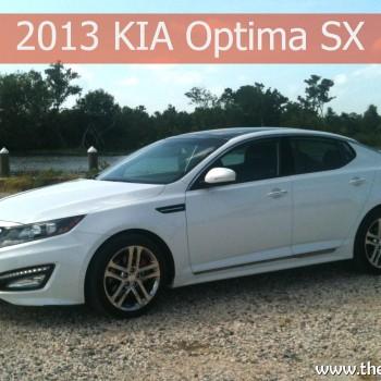 The 2013 Kia Optima on the road #KiaOptima