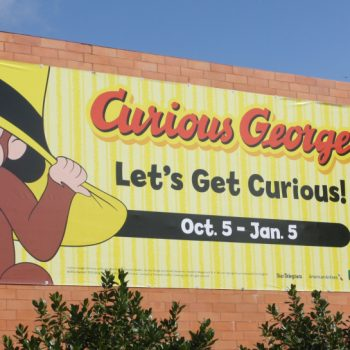 Get Curious with Curious George at the Fort Worth Museum of Science and History