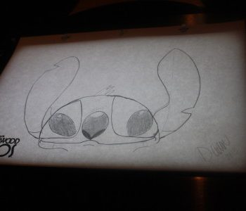 Draw Disney Characters at Disney World