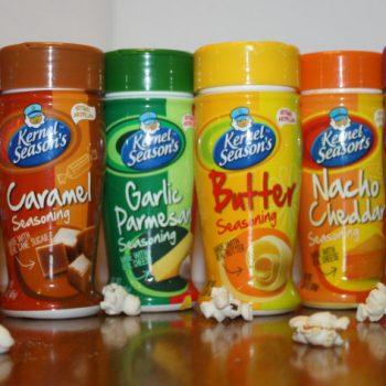 Add Flavor to Your Popcorn With Kernel Seasons Seasonings