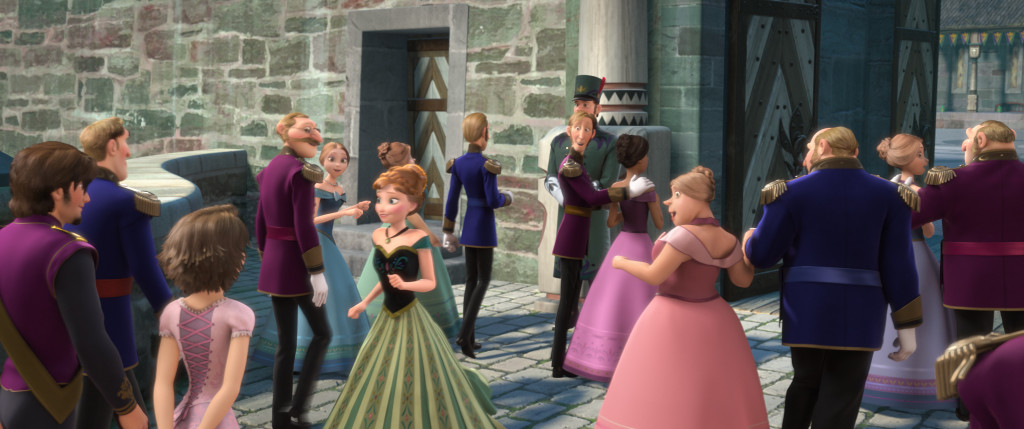 hidden images in disney's frozen