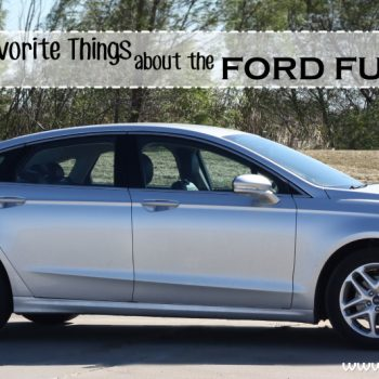 My Favorite Things About the Ford Fusion  #FordTX