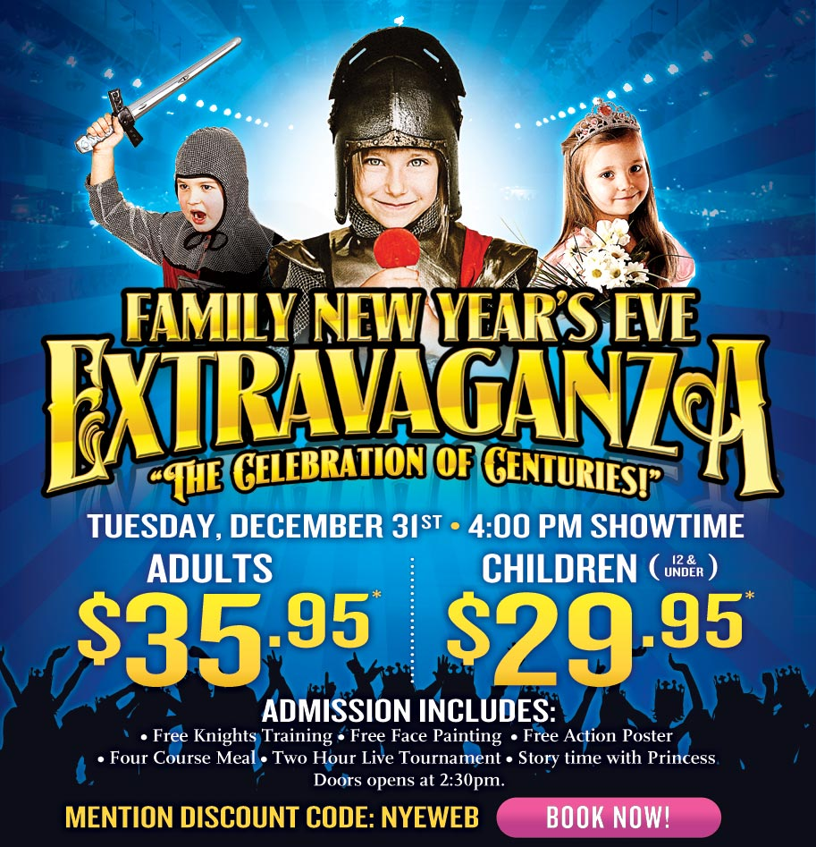 new years eve at medieval times