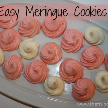 Enjoy These Delicious and Easy Meringue Cookies