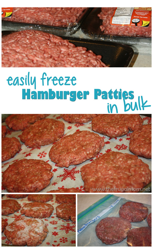 Freeze Hamburgers
