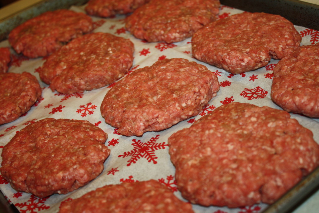 freeze hamburger