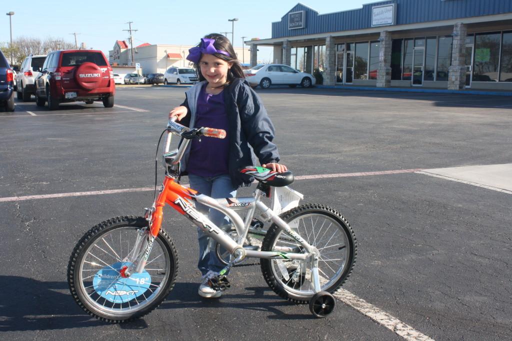 winning a bike