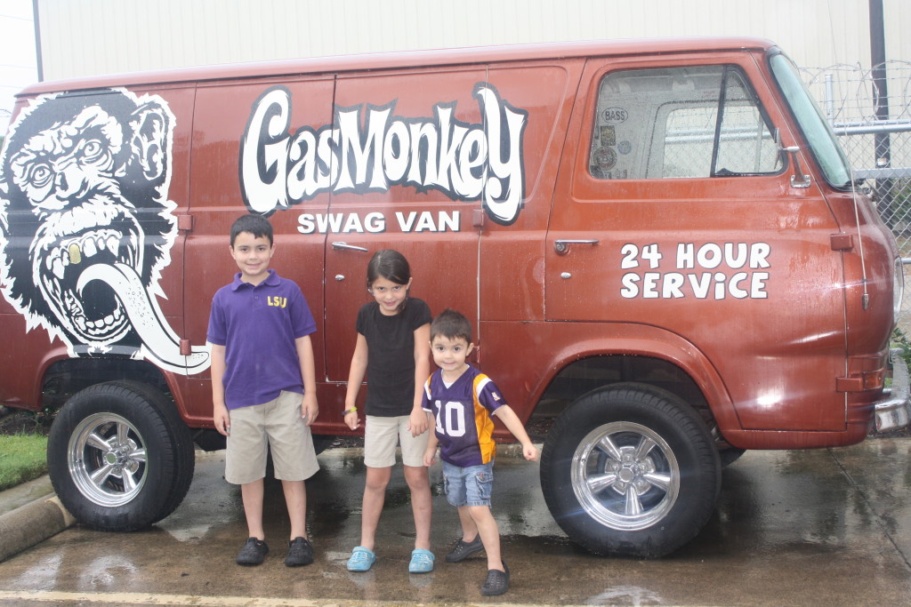 gas monkey swag van