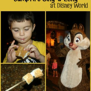 Our Unforgettable Night at Chip and Dale's Campfire Sing-A-Long