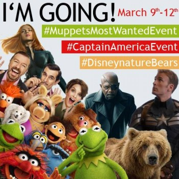 Muppets, Captain America and Bears, Oh My! #MuppetsMostWantedEvent