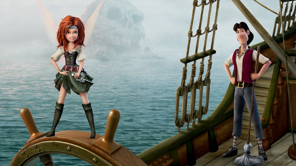 The Pirate Fairy DVD