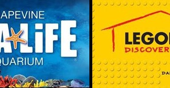 Free Child's Ticket at Legoland Discovery Center and Sea Life in Dallas
