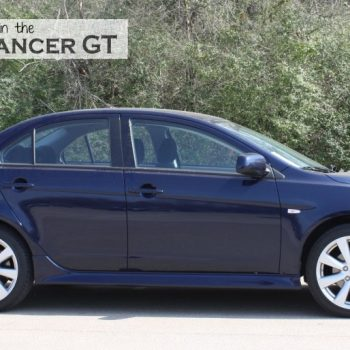 Get On The Road in the Mitsubishi Lancer GT