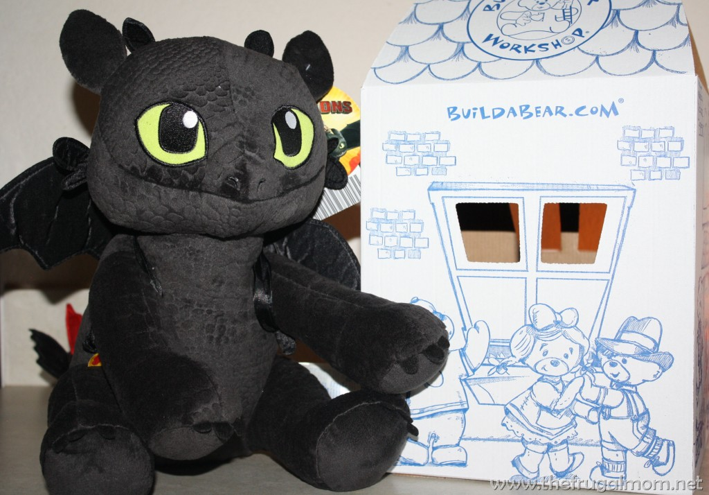 toothless at build a bear