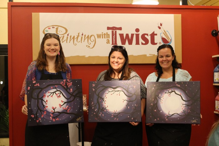 painting with a twist denton