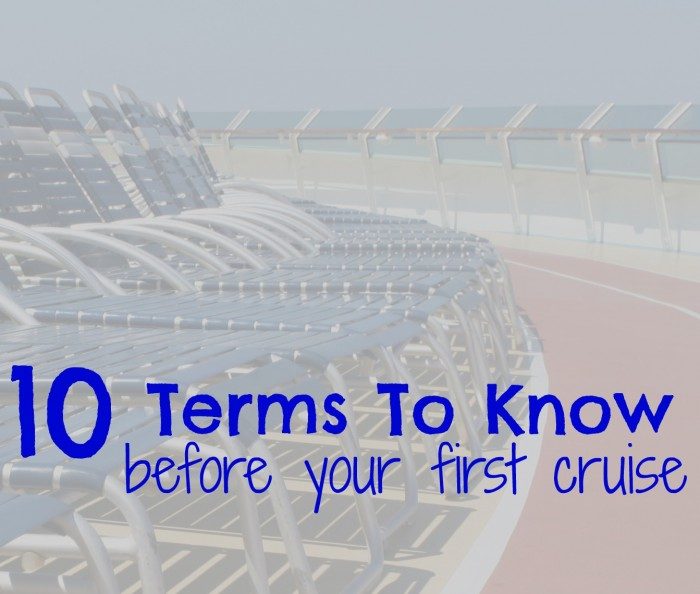travel cruise terms