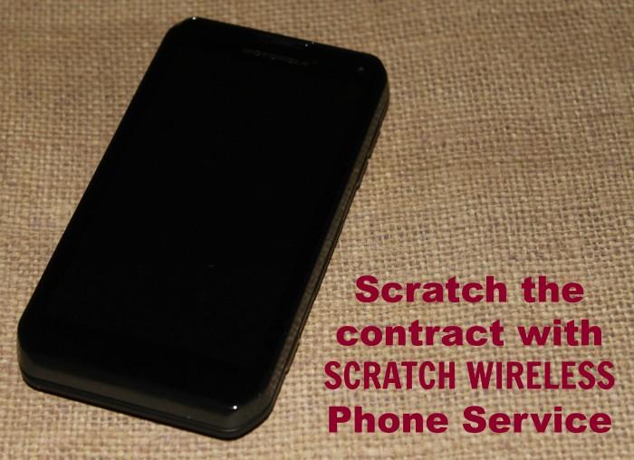 scratch phone
