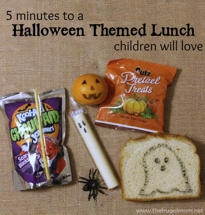 halloween lunches