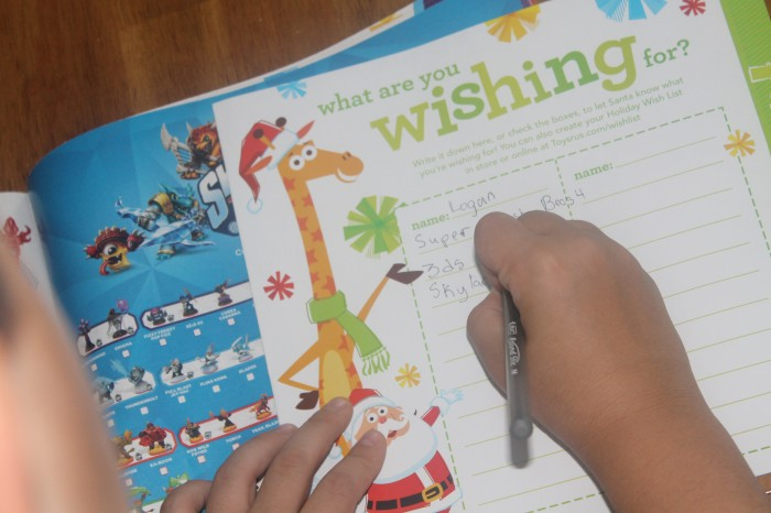 toys r us christmas book