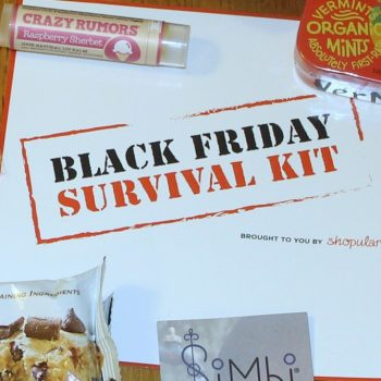 Save Stress and Money With This Black Friday Survival Kit
