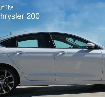 A Week In The 2015 Chrysler 200