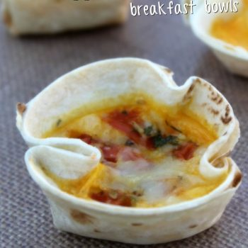Start the Day With Mini Egg and Cheese Breakfast Bowls