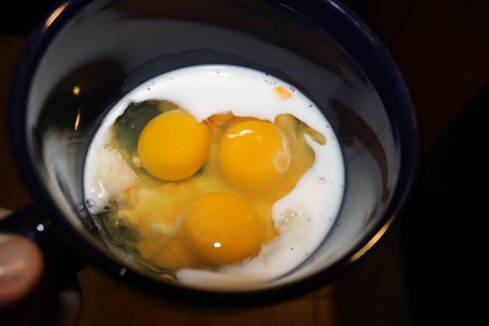 eggs in microwave