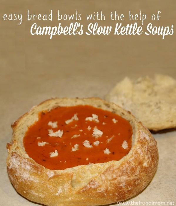 soup bread bowl