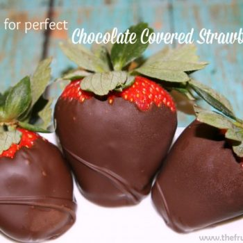 5 Tips for Perfect Chocolate Covered Strawberries