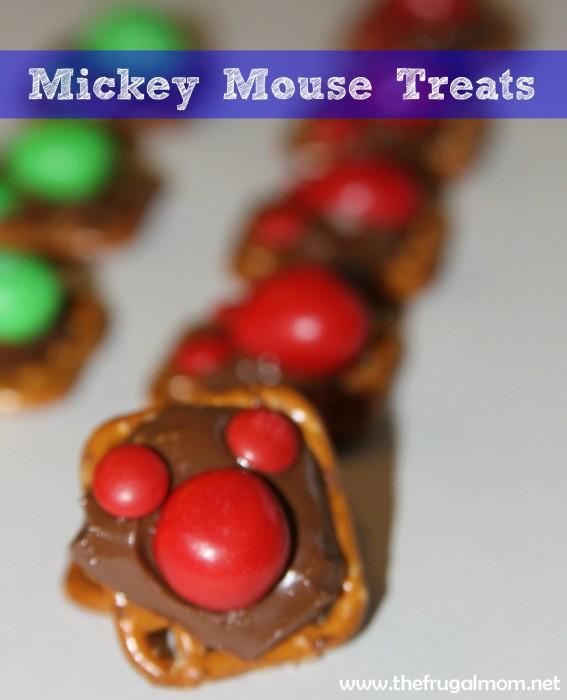 mickey mouse treats