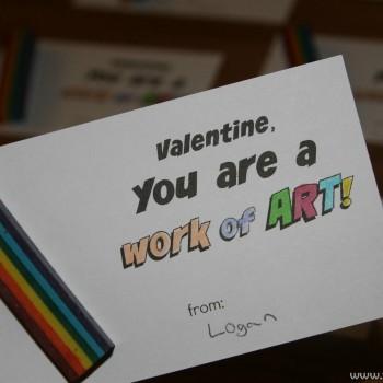 valentine work of art