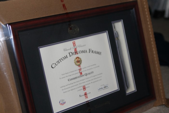 Give a memorable diploma frame with church hill classics diploma frame solutioingenieria Image collections