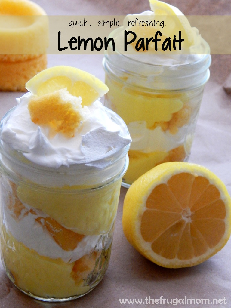 Get Refreshed With A Simple Lemon Parfait For Dessert