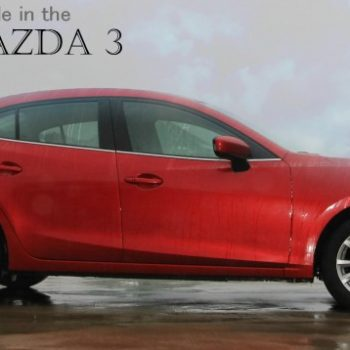 Go For A Ride In The 2015 Mazda3
