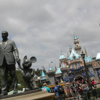 Catch a Sneak Peek of Tomorrowland in Disneyland