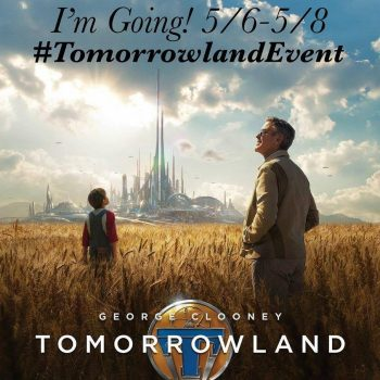 Tomorrowland Disney Blogger Event in Los Angeles