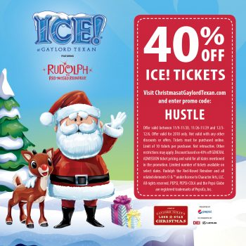 Save 40% On ICE! Tickets With This Gaylord Texan ICE Coupon