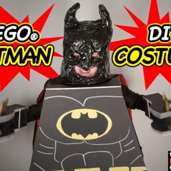 Make Halloween A Breeze With A DIY Lego Batman Costume Tutorial