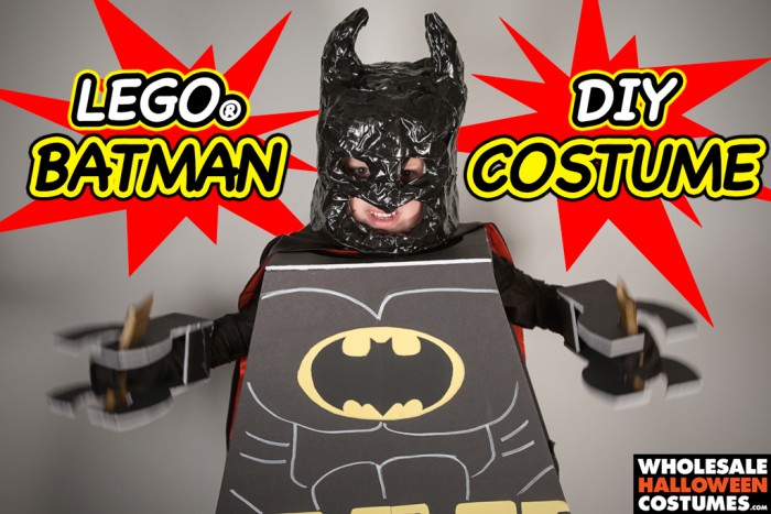 DIY Lego Batman Costume